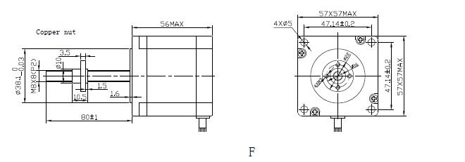 linear hybrid stepper motor changzhou kangda tongyong